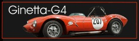 Gintta-G4 racecar for sale build in 1965  / Tel. (+49) 0234 683767